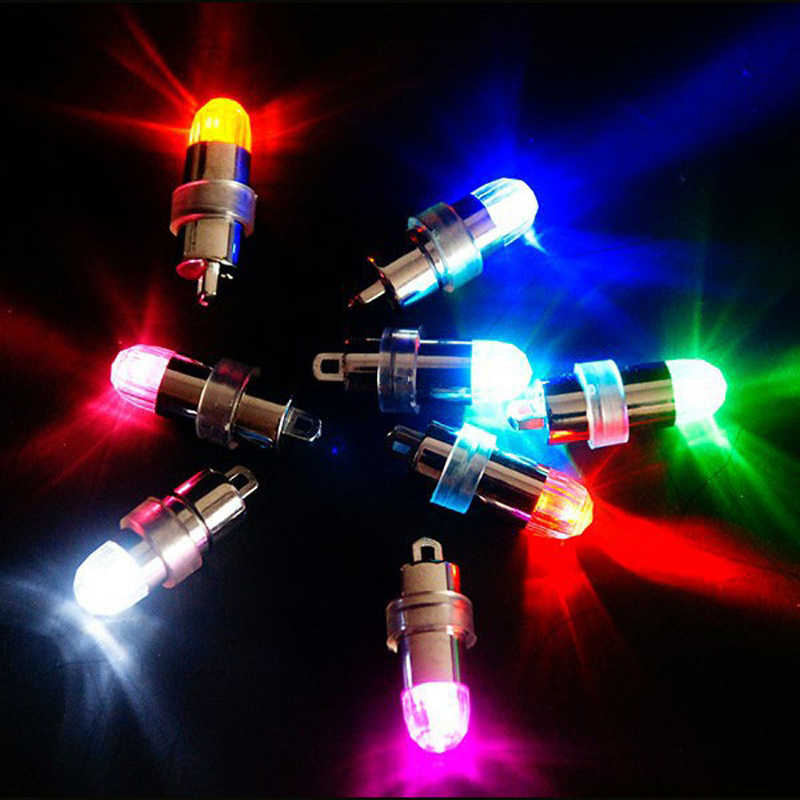 10pcs/lot Glowing Led Balloons Lights For Wedding Centerpiece KIT Eiffel Tower Glass Vases party decorations, 9 colors