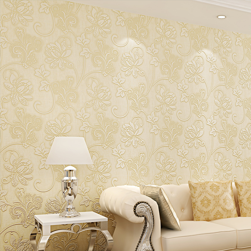 SWP16-039-3 Wallpaper European Floral Damask Murals Papel De Parede Embossed Classic Rural For Bedroom Livingroom Sofa Backdrop<br><br>Aliexpress
