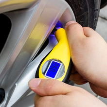 2016 NEW Digital LCD Car Tire Tyre Air Pressure Gauge Meter Manometer Barometers Tester Tool For Auto Car Motorcycle Motors()