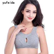 YUFEIDA Womens Seamless Breast Feeding Bras Cotton Comfortable Maternity Bra Leisure Gorge Pregnancy Intimate Lingerie Underwear