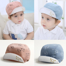 Fashion Cat Baby Hats Unisex Children's Baseball Cap For Boys Girls Baby Caps Beanies Cartoon Summer Sun Hat Cotton Visor Caps