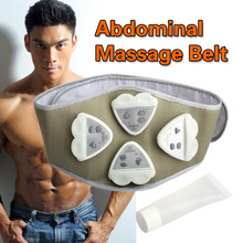 1pcs Gymnic Gymnastic Body Building ABS Belt Electronic AB Exercise Toning Toner Waist Muscle Wholesale Electronic Belt