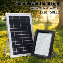 Buy Mising 150 LED 3528 Solar Powered Flood Light Sensor Outdoor Garden Path Street Spotlight Security Lamp Waterproof for $60.93 in AliExpress store
