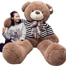 71''/180cm Lovely Super Soft Giant Stuffed JUMBO Teddy Bear toys Valentine's day gifts(China)