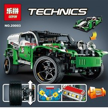 20003 1249Pcs Technic Series 24 Hours Race Car Model Building Kit Blocks Brick Toy Vehicles compatiable With lego