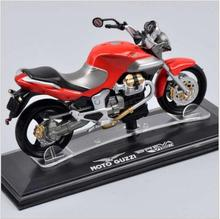 ITALERI Mini1/22 Scale Moto Guzzi Breva 1100 Diecast Motorbike Toys Juguetes Vehicles Kids Toys brinquedos Collections Gifts C(China)