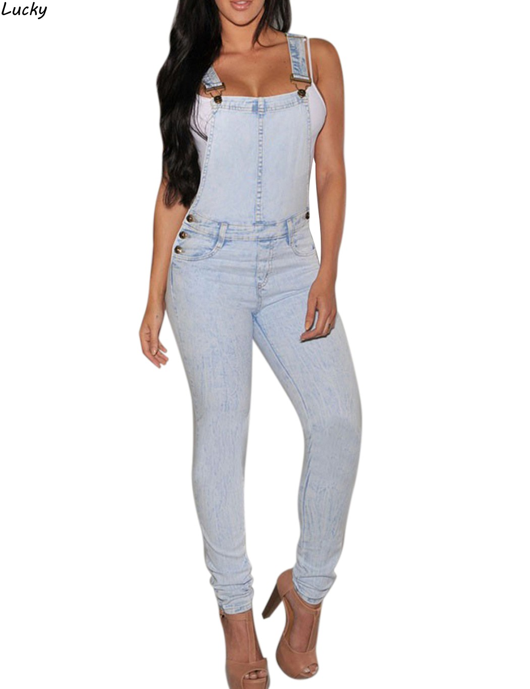 Brand Women Denim Jumpsuit 2016 Spring Autumn Casual All Match Slim Vintage Loose Solid Jeans Overall Women ClothingОдежда и ак�е��уары<br><br><br>Aliexpress