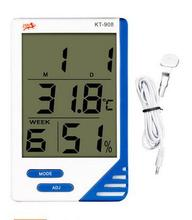 Digital  thermometer thermostat hygrometer Humidity Temperature Gauge Time calender clock tester min/max memory function