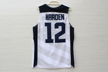 12 James Harden 2012 Dream Team USA London Games basketball Jerseys Throwback Stitched(China)