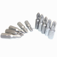 "10pcs 25mm Ph2 Phillips Screwdriver Bits Phillips 2 (ph2) Impact Driver Bits Screwdriver Insert Phillips Bit 1/4""(6.35mm) Hex(China)"