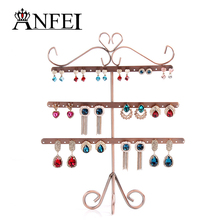 ANFEI 9 Style Jewelry Display Shelf Display Shelf Rack Jewelry Stand Display Stand For Jewelry Jewelry Holder Earring Display