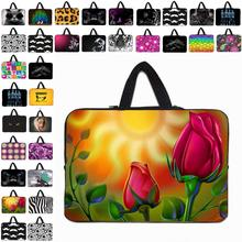Hot Sale Many Designs Neoprene  7 10 12 13 14 15 17 inch Laptop Notebook Computer PC Sleeve Handle Bags Cover Pouch Bolsas Cases