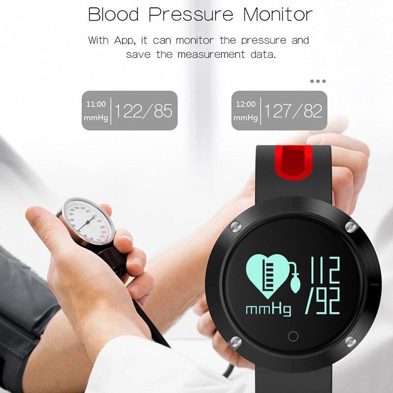 Interpad DM58 Women Men Smart Watch Sport Bluetooth Smart Bracelet Blood Pressure Heart Rate Monitor IP68 waterproof Smartwatch