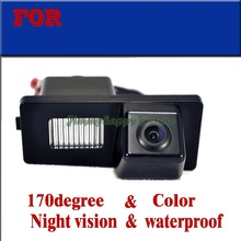 for sony ccd Color CCD HD for Ssangyong Korando REXTON W Kyron Car Rear View Camera Reverse Backup parking aid waterproof(China)