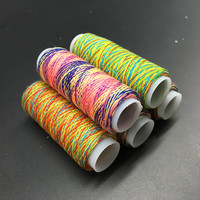 5Pcs Rainbow Color Sewing Thread Hand Quilting Embroidery Sewing Thread For Home DIY Sewing Accessories Supplies