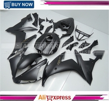 All Matte Black Gold Decals YZF R1 2004 2005 2006 ABS Plastic Fairing Kit Bodywork For Yamaha