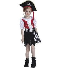 pirate costume girl pirate costume kids halloween costume pirate clothing pirate costume child