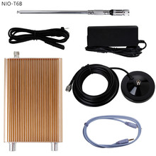 Free Shipping NIO-T6B 1W/6W Stereo Audio Portable FM Radio Transmitter Kit for Broadcast Station(China)