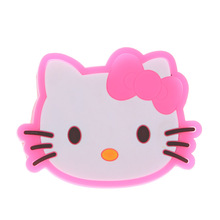1 Piece silicone dining table kitchen accessories mats cup bar mug hello kitty drink pads bowl doilies placemat coaster(China)