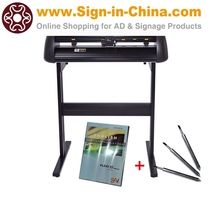 "24"" Vicsign Vinyl Cutter with CCD Camera, Full Auto Contour Cut Function"