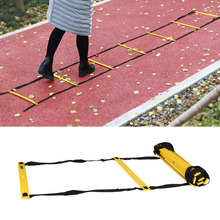 New Durable 5M/ 7M Agility Ladder Fitness Equipment for Soccer Football Speed Training With Carry Bag B2Cshop