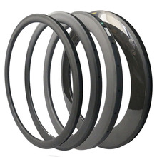 Carbon Rims 700C Road Bike 20/30/38/45/50/55/60/75/88 mm Depth 23mm Width Bicycle Rims Carbon Wheels Clincher 3K/UD Glossy/Matte