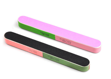 2pcs New Fashion hot sale Article Nail File Of The Six Sides Frosted Professional Manicure Nail Tools Drop Shipping GYH(China)
