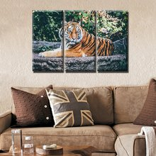 Tiger Oil Painting on canvas Modern Home Wall decor picture artwork Prints On Canvas For Living Room Dropshipping
