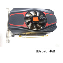 Buy AMD ATI Radeon HD7670 4GB GDDR5 128Bit VGA DVI HDMI PCI express gaming Graphics Card cooling fan computer PC desktop for $53.88 in AliExpress store