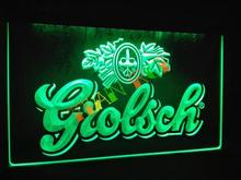 LA007- Grolsch Beer Bar Pub Club NEW LED Neon Light Sign(China)