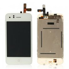 High Quality White Color LCD Screen Replacement + Touch Screen Digitizer+Home Bottton Full assembly For IPhone 3G