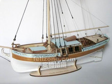 LOVE MODEL Free shipping Scale 1/24 Classic Swedish royal yacht model kits 17th Century Yacht Sweden 1770 ship model(China)