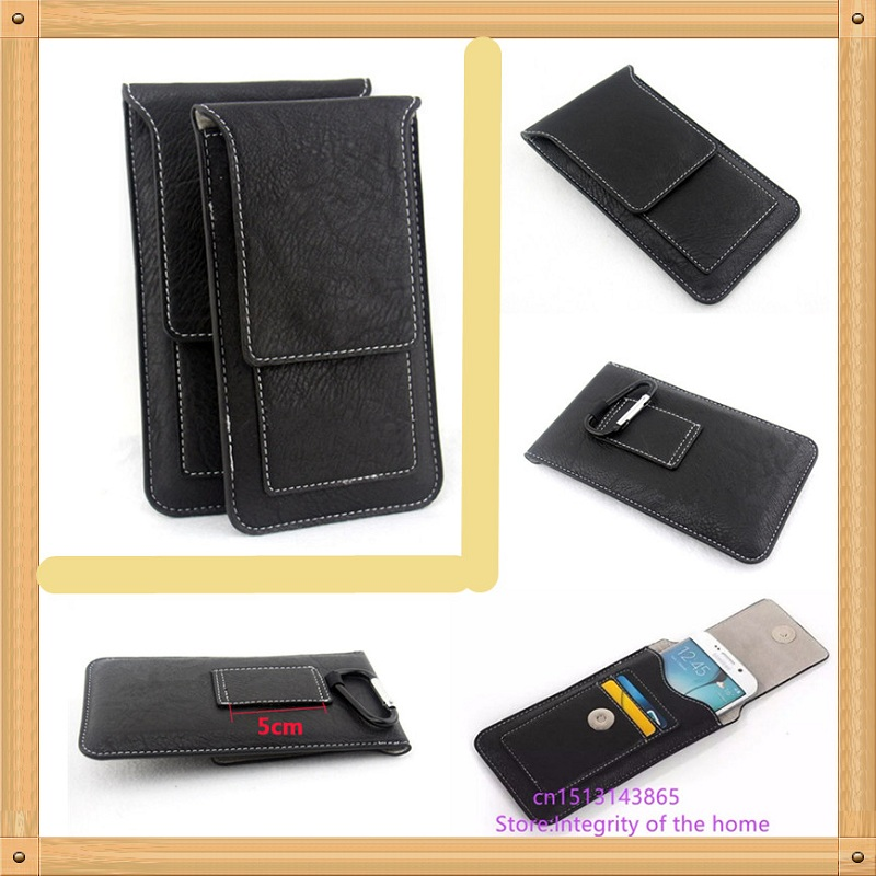 Waist cell phones pouch For LG Tribute 2 LS665 Tribute Duo / V10 F600K F600L F600S H900 AT&T H901 H960 H960A H962 case cover bag(China)