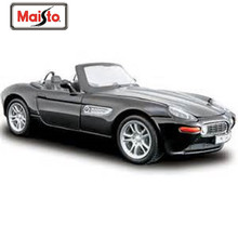 Maisto 1:24 Z8 Black Diecast Model Car Toy New In Box Free Shipping