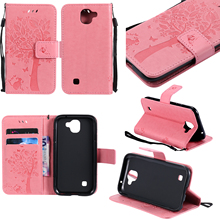 Leather case for LG K3 LTE K100 K100DS LS450 Case bag Cover for coque LG K 3 K 100 100DS DS K100 Cases Tree Pattern Mobile Phone