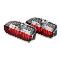 2x LED Car Door Courtesy Laser Logo Projector Light For VW Golf 5 6 7 Jetta MK7 CC Tiguan Passat B6 B7 Scirocco(China)