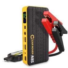 New Smart Power Clips 14000mAh Car Jump starter 800A Peak Current Mini Portable Emergency Battery Charger Power Bank for Petrol(China)