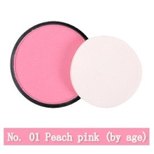 NANI monochrome *No.01* blush rouge powder orange pink pearl matte blush pink manufacturers wholesale 8 colors 1Pcs/lot(China)