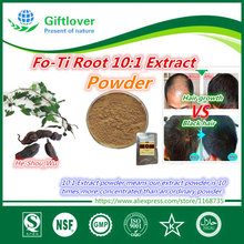 For gray hair,FO-Ti Root Extract Powder ,He-shou-wu,polygonum,Chinese hair care for hair growth and black hair,High quality