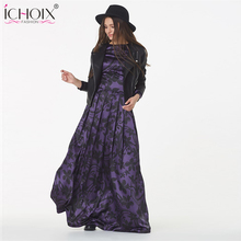 Buy 2017 Summer Spring Fashion Women Long Dress Chiffon Long sleeve Print Maxi Dress Elegant Casual Party Dresses sexy Vestidos for $14.99 in AliExpress store