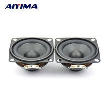 Aiyima 2Pcs Tweeter Loudspeaker Full-Range Speakers Hifi Frets Mini Speaker Box Multimedia Wei Magnetic Speaker 2 Inch 4 Ohm