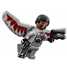 Single Sale Falcon Sam Wilson Captain America: Civil War Super Heroes Avengers Assemble minifig DIY Building Blocks Kids Toys(China)