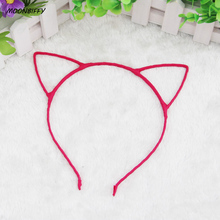 MOONBIFFY 1 PCS Stylish Women Girls Cat Ears Headband Accessories Sexy Head Band Multicolor Hello Kitty Styling Tools Headwear(China)