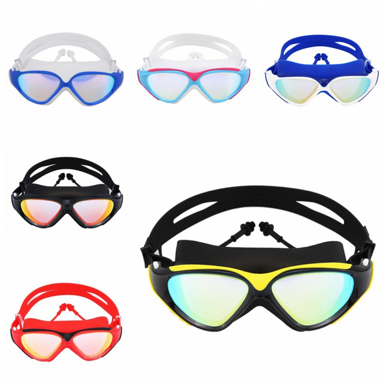 Goggles Professional Children Silicone Swimming Goggles Anti-fog UV Swimming Glasses for Men Women Eyewear 27