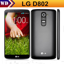 Original LG G2 D802 D800 F320 F320L F320S Mobile Phone 13MP Camera Quad-core 5.2'' Screen WifI Bluetooth With One Year Warranty