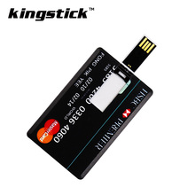 Newest pendrive 4GB/8GB/64GB Bank Credit Card Shape usb flash drive 16gb Pen Drive 32gb Memory Stick best gifts
