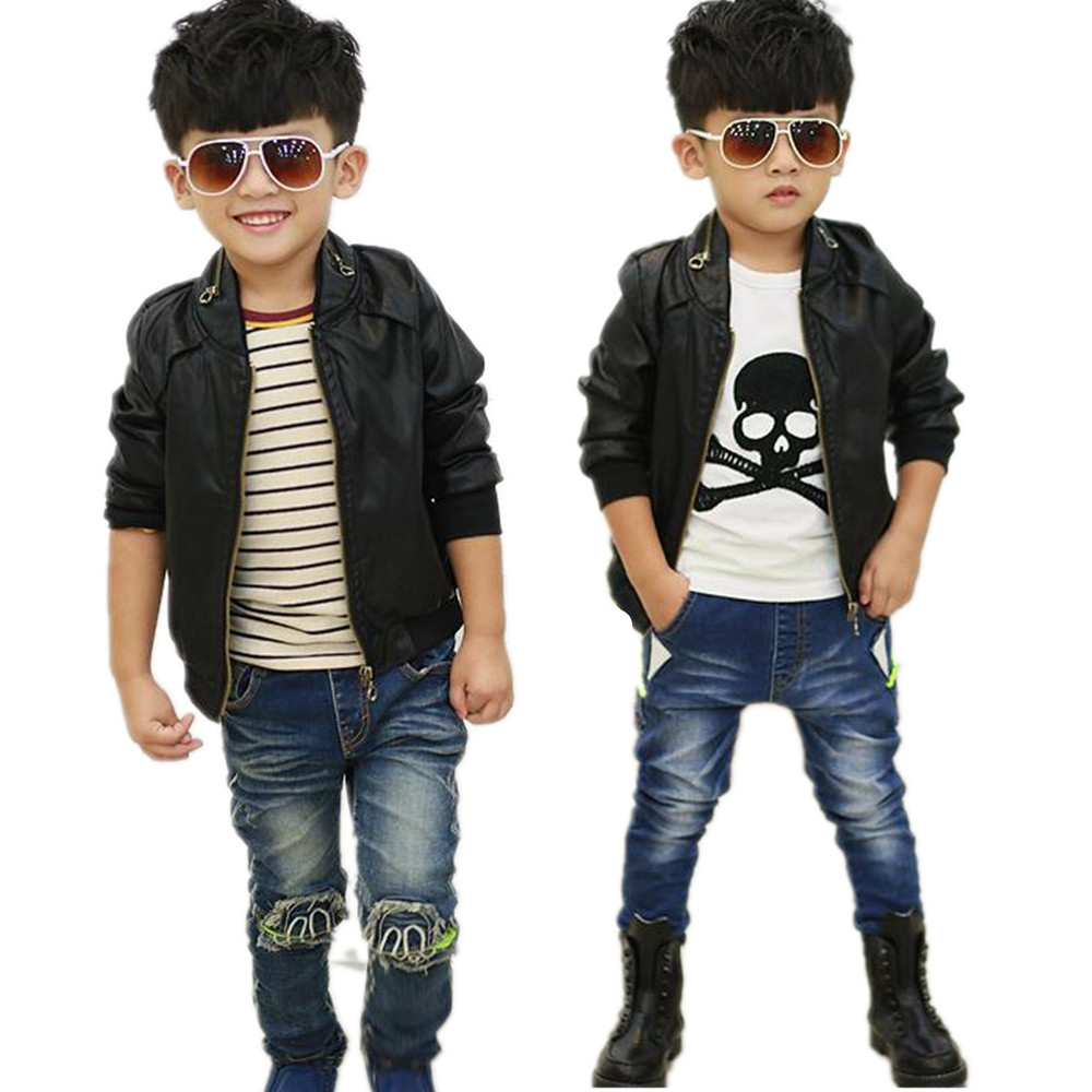 Popular Boy Jacket Leather Sleeve-Buy Cheap Boy Jacket Leather ...