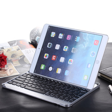 2016 Newest Cheap Ultra-thin Metal Aluminum Alloy Wireless Bluetooth Keyboard Slim Keyboard For iPad 6 Air 2 High Quality