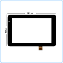 New 7'' inch Digitizer Touch Screen Panel glass For Prestigio MultiPad pmp5570c DUO Tablet PC