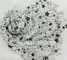 extra large Cotton Star Scarf wrap Shawls scarves scarf wraps shawls 200*75cm 12pc/lot #2081(China)